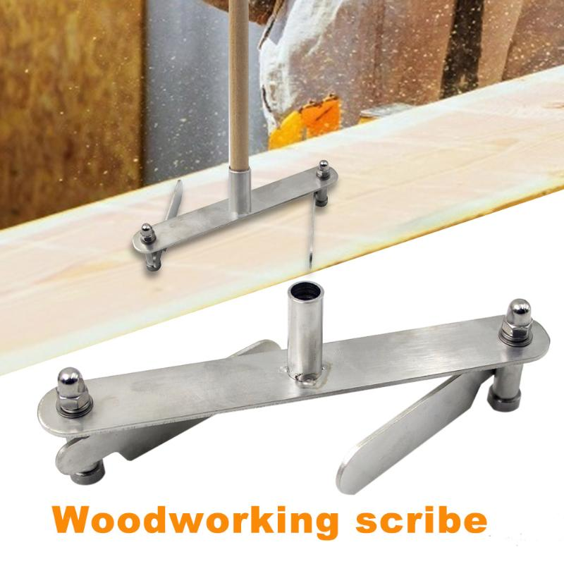 Durable Stainless Steel Woodworking Scribe Mark Line Wood Gauge Accurate Scribing Device Carpenter Measuring Hand Tools