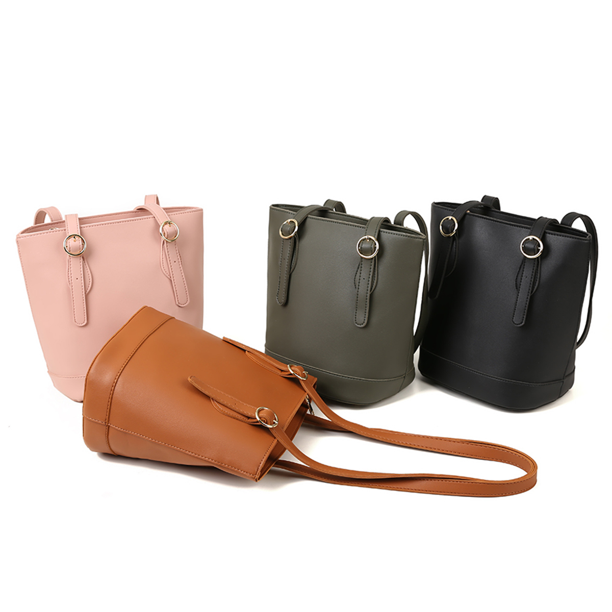 Simple Fashion Women Leather Handbags Big Women Bag High Quality Casual Female Bags Trunk Tote Shoulder Bag Ladies Large