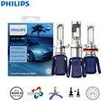 Philips Ultinon Эфирное светодиодный H4 H7 H8 H11 H16 HB3 HB4 HIR2 9003 9005 9006 9012 12V UEX2 6000 К авто фары Противотуманные огни (двойная)