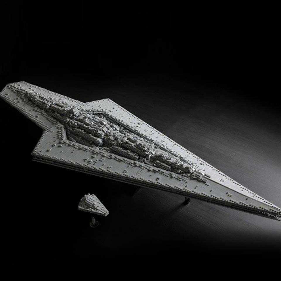 Nueva superestrella albacea Star Wars Star Dreadnought MOC-15881 legoinglys bloques tecnología Star Wars barco niño juguetes regalos de navidad