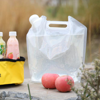 Cycling Foldable Water Bag Evacuation Disaster Prevention Foods Water Tank Water Bag Portable Large Capacity Safety Bag image