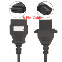 Car OBD2 Auto Cable Truck for VOLVO 8Pin 16 Pin to 8 Volvo 8pin 16pin For Diagnostic tool