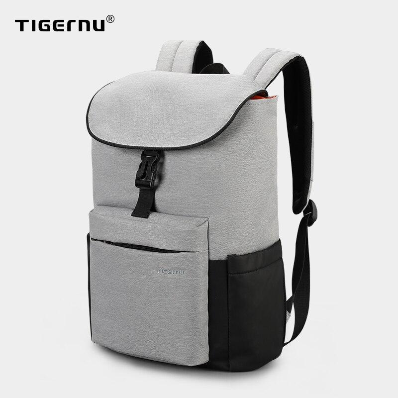 """Tigernu nouvelle arrivée 15.6 """"grande capacité hommes sac à dos sport décontracté voyage sac loisirs Cool Durable cartable pour adolescent jeunesse"""