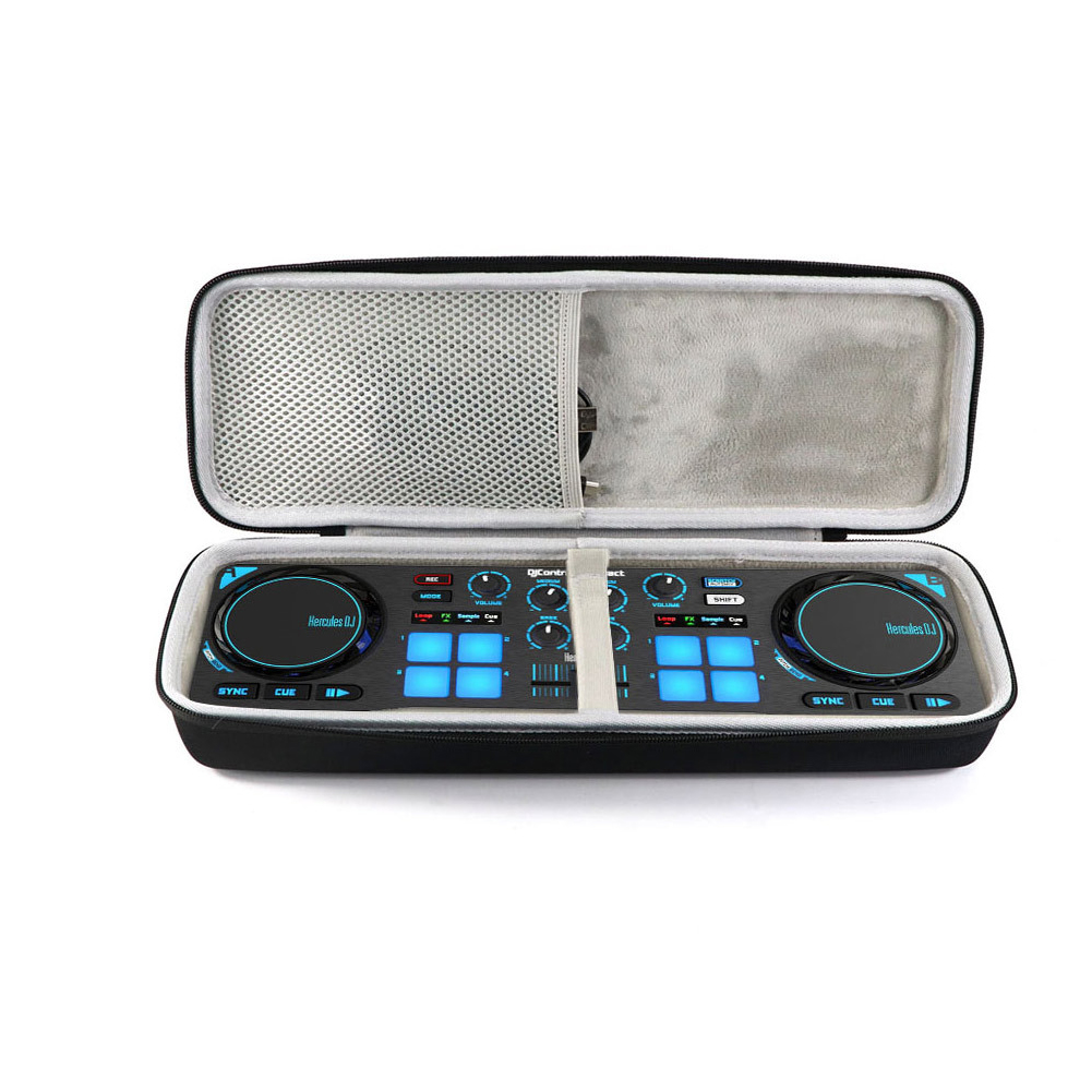 Compact Portable DJ Controller Hard EVA Lightweight Carrying Handheld Travel Case Storage Protective Anti Scratch For Hercules