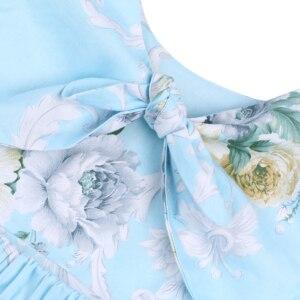 Image 4 - Flofallzique Bông Hoa Vintage Cô Gái Fress Đeo Chéo Phối Ren Công Chúa Tập Đi Cho Bé Kid Công Chúa Quần Áo Cho Bữa Tiệc Giáng Sinh