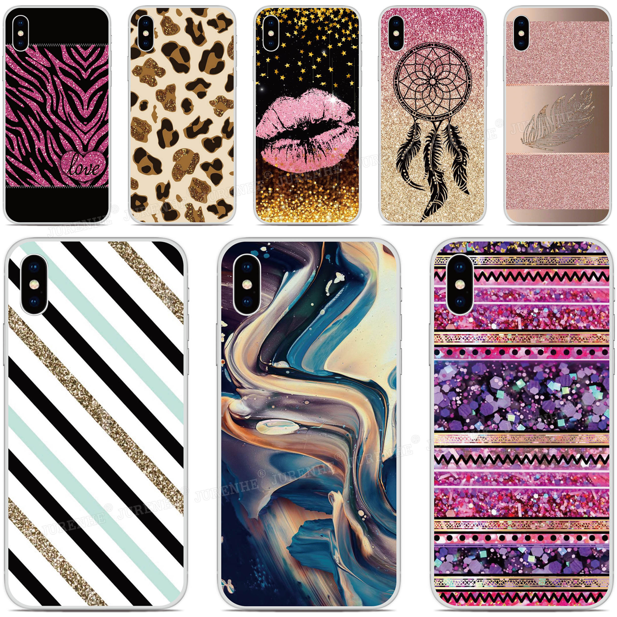 Soft Silicone Glitter Designs Cover <font><b>Cases</b></font> For <font><b>Oukitel</b></font> C18 <font><b>K6000</b></font> C17 C16 C15 C13 C12 U25 <font><b>Pro</b></font> K9 K3 U22 U20 Plus Y4800 Phone <font><b>Case</b></font> image
