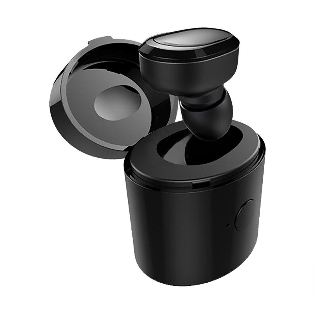 Single One Mini Bluetooth 5.0 Sport Waterproof IPX7 Headset Wireless Earphone In Ear Earbuds For iPhone with Chargin Box|Bluetooth Earphones & Headphones|   - AliExpress