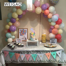 WEIGAO Balloons Arches Frame Kit Wedding Balloon Column Stand Decor Backdrop Birthday Party Table Decoration Air Ballon