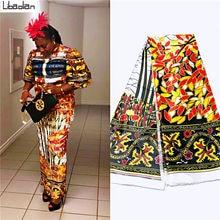 Горячая Распродажа африканская шелковая восковая ткань с цветочным принтом, Высококачественная африканская шелковая атласная ткань с цве...