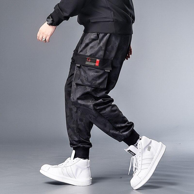 Plus 7XL 6XL 5XL XXXXL Camouflage Military Jogger Pants Men  Pure Cotton Mens Spring Autumn Pencil Harem Pant Men Comfortable