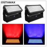 2pcs Led wall wash light 600w outdoor dmx building wash project lighting 60x10w rgbw 4in1 high power waterproof wall washer