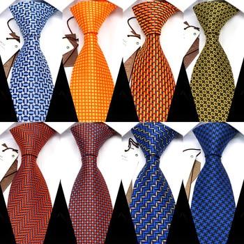 YISHLINE 8CM Mens Tie New Designer Man Neck Ties Geometric bridegroom Wedding Tie Men Accessories polyester silk drop shipping drop shoulder self tie cardigan