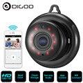 DIGOO DG-MYQ 2,1mm lente 720P inalámbrica Mini WIFI visión nocturna casa inteligente Cámara IP de seguridad Onvif Monitor de bebé