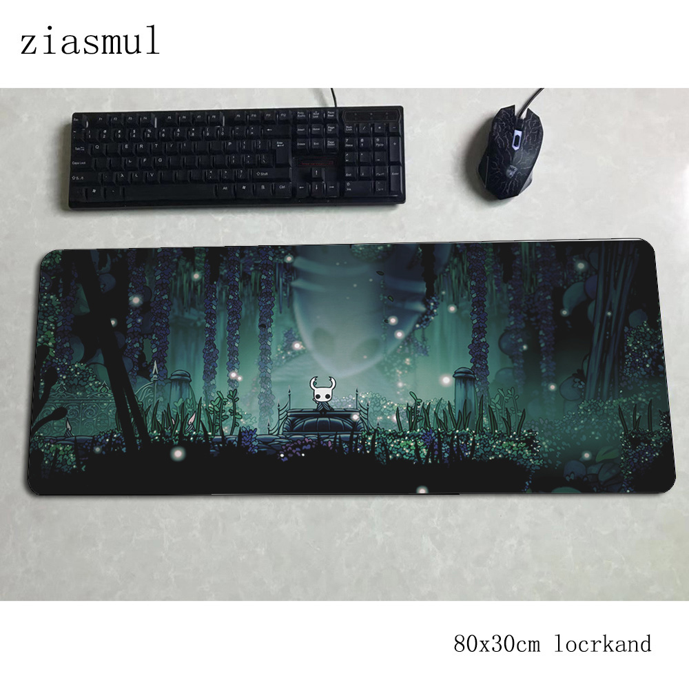 Hollow Knight Mouse Pad 80x30cm Mats Cute Computer Mouse Mat Gaming Accessories Hot Sales Mousepad Keyboard Games Pc Gamer