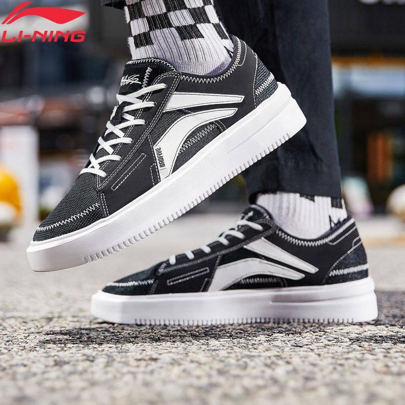 Li-Ning Women 2019 THE REBEL Basketball Leisure Shoes The Trend Classic Sneakers LiNing Li Ning Retro Sport Shoes AGBP022 YXB320