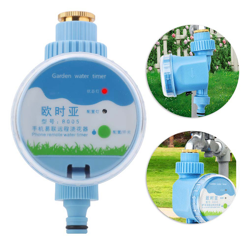 Купить с кэшбэком Wifi Automatic Garden Water Timers Smart Phone Remote Garden Irrigation System Electronic Irrigation Timer Controller Sprinkler