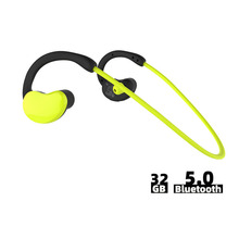 Portable Sport MP3 Player Bluetooth Headphone 32 GB Water Resistant Bluetooth Earphone Wireless Headset with Micphone Stereo