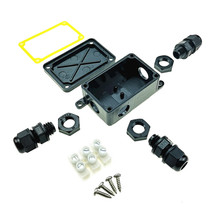 Connector Case Junction-Box Plastic Waterproof Outdoor IP66 Cable-Wire Protect Multiple-Ways