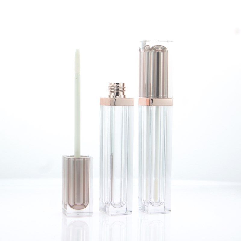 6ML Lipgloss Wand Tubes Rose Gold Silver Empty Cosmetic Containers Lipgloss Packaging Lip Gloss Containers Tubes 10pcs 30pcs image