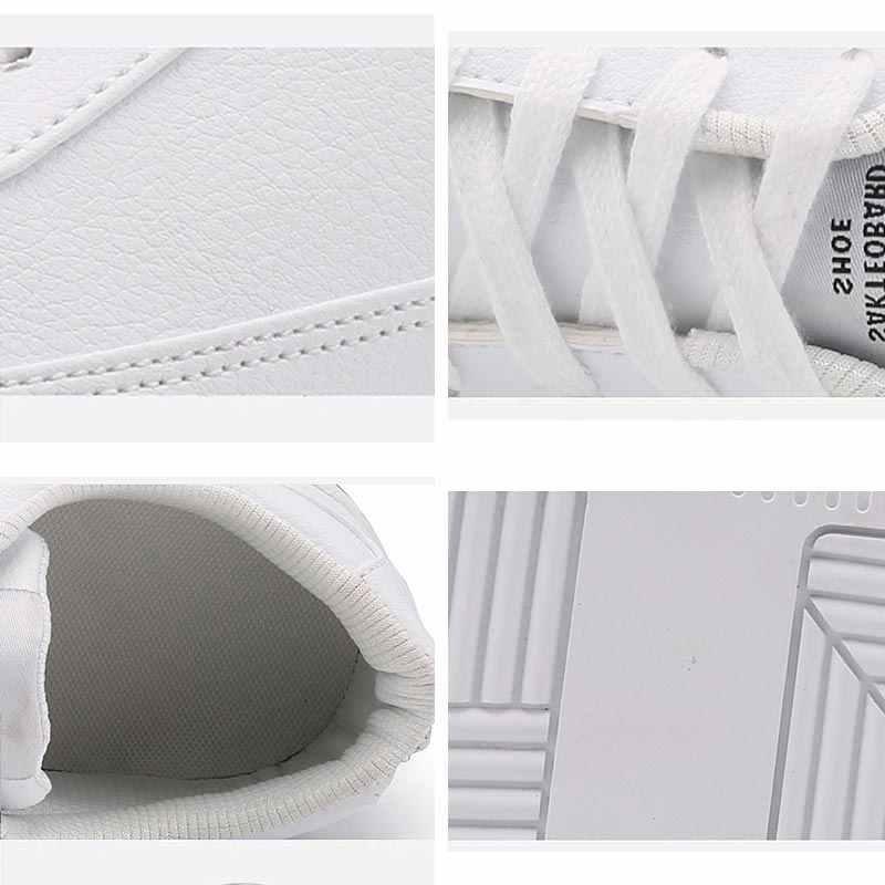 Zapatillas de deporte de gran tamaño de cuero PU para hombres zapatos deportivos para correr para mujeres zapatos deportivos de diseñador para Hombre Zapatos de tenis para hombres B-382 atléticos blancos