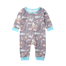 Newborn Baby Boy Girl Fox print Romper Jumpsuit Playsuit Outfits Clothes Nei