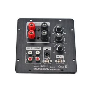 Image 3 - GHXAMP 2.1 Subwoofer Speaker Amplifier Board TPA3118 Audio 30W*2 +60W Sub AMP With Independent 2.0 Output