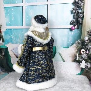 Кукла Санта-Клауса, плюшевые украшения на Рождество, украшение на День святого Валентина, конфетное ведро, новогодние подарки для детей, плю...