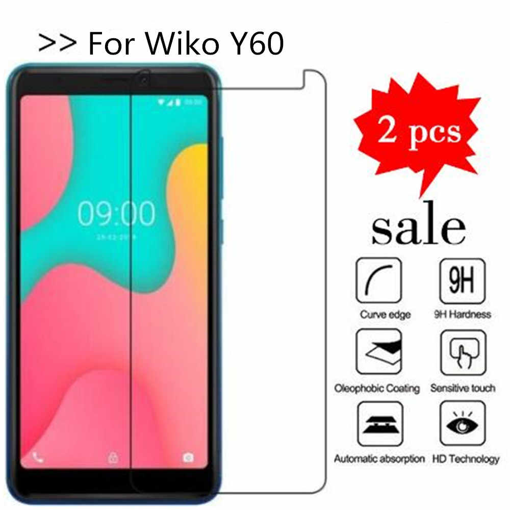 For Wiko Y60 Tempered Glass High Quality Protective Film Explosion-proof Screen Protector For Wiko Y60