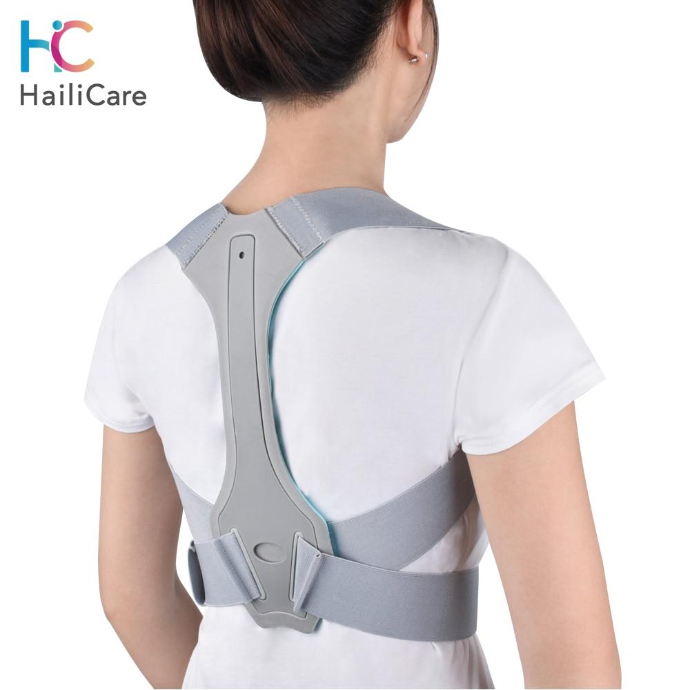 Posture Back Corrector Clavicle Spine Back Shoulder Support Belt Back Pain Relief Posture Correction Prevents Slouching Unisex