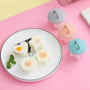 4 sztuk/zestaw jajowar jajko plastikowe kuchenka do jaj kłusownik formy naleśnikarka jajecznica narzędzie kuchenne akcesoria kuchenne gadżet