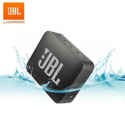 Original sem Fio Impermeável ao ar Handsfree com Microfone Bluetooth Mini Alto-falante Livre Portátil Alto Falantes Esportes ir 2 Baixo Som Jbl Go2