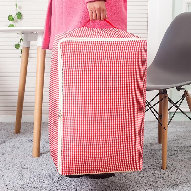 -Стиральная одеяло сумка для хранения стеганая коробка для хранения я организации папок ткань мягкая сумка для хранения