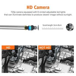 Image 4 - 3.9mm 2.0MP אלחוטי פיקוח מצלמה IP67 Wifi אנדוסקופ מצלמה עם 6 LED עבור אנדרואיד ו IOS Smartphone, iPhone, סמסונג