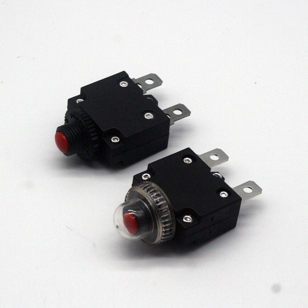 1 шт. 2A 3A 5A 6A 8A 10A 15A 20A 25A 30A автомат защити цепи перегрузка переключатель предохранитель от перегрузки по току сброс страхования Выключатели      АлиЭкспресс