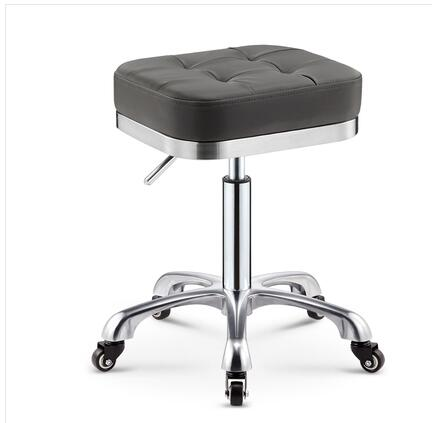 Купить с кэшбэком Rotating lifting pulley beauty stool work bench makeup hair salon nail stool