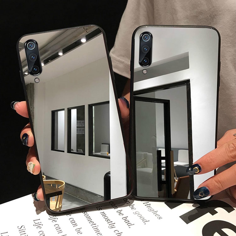 Mirror Phone Case for Samsung A71 A70 A50 A40 A30 A20 Soft Cover Galaxy J4 J6 J8 A6 A8 Plus 2018 S8 S9 S10 Plus S10e Back Cover(China)