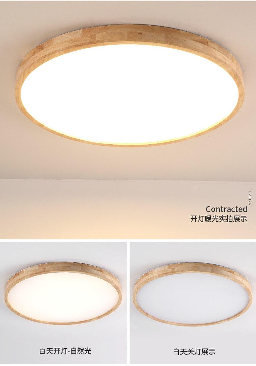60 cm quarto lâmpada de teto ultra