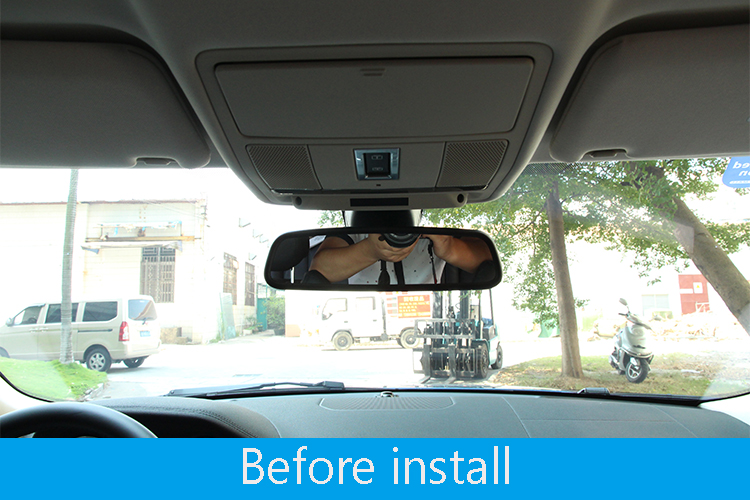 Rearview Mirror Cover Trim For Land Rover Discovery 4 Range Rover Sport Evoque