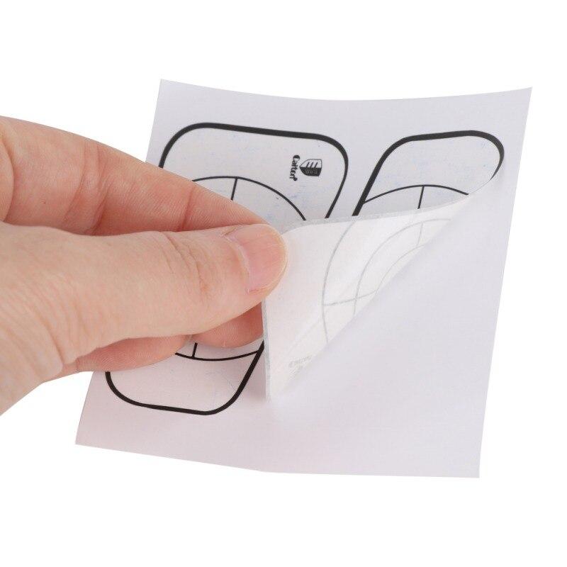 10pcs/set Golf Target Tape Impact Golf Recorder Labels Sticker Target Training Aids Hot Selling