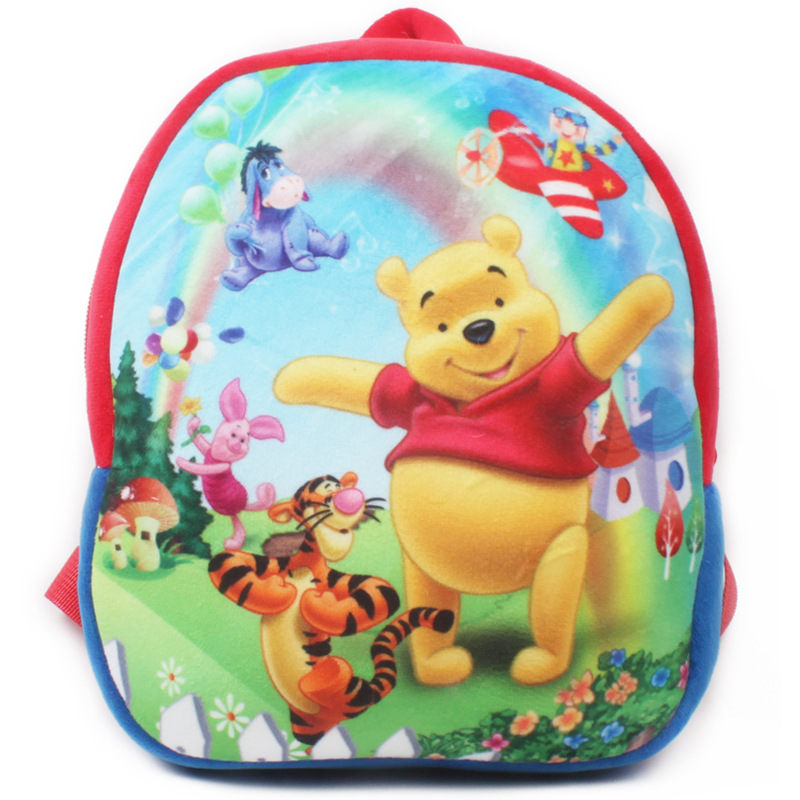 Cute Baby Bear School Bag Cartoon Mini Plush Backpack For Kindergarten Kids Boys Girls Gift Student Children Lovely Schoolbag