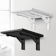 Кронштейн NAIERDI, 2 шт., треугольной формы, прикрепляемый к стене, кронштейн для полок, мебельная фурнитура