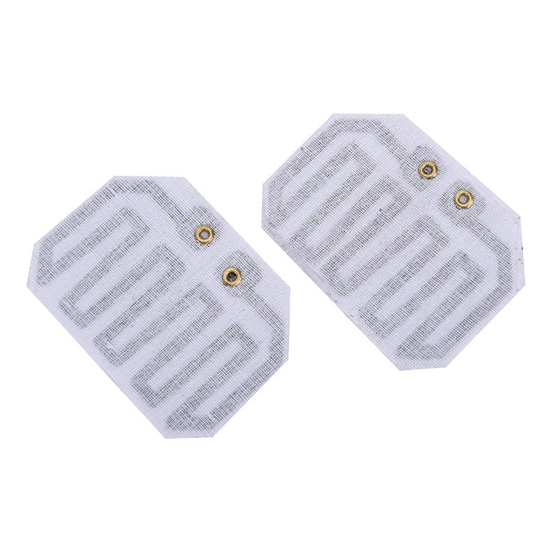 2pcs 3.7V~5V Carbon Fiber Heating Pad Hand Warmer Heating Film Electric Winter Infrared Fever Heat Mat