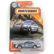 FORD POLICE INTERCEPTOR Matchbox Cars 1:64 Car Metal Diecast Alloy Model Car Toy Vehicles