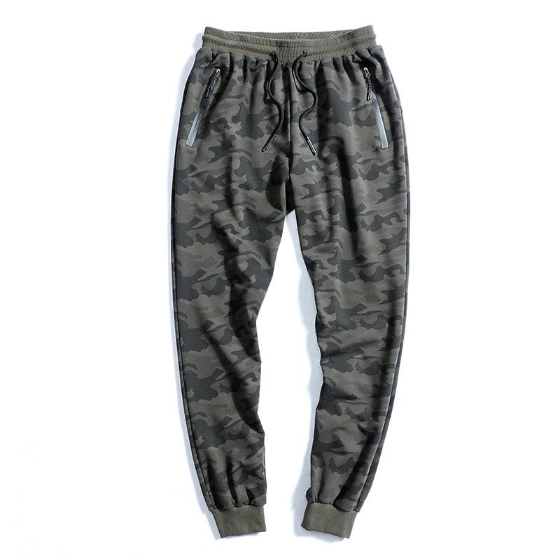 New 2019 Men Pants 8XL 9XL 10XL Elastic Waist Plus Size Men Sweatpants Loose Casual Large Size Camouflage Joggers Men's Clothing