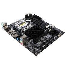 X58 Desktop Motherboard Lga 1366 4-Channels Ddr3 32Gb Ram M-Sata Mainboard For Intel E5520/L5520 X5650 Core I7 все цены
