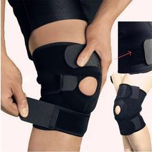 Brace Knee-Protectors Adjustable Wrap Stabilizer-Sleeve Support Black Unisex 1pc