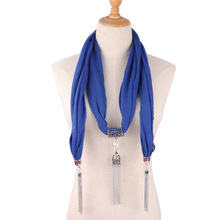 jewelry necklace scarf womens clothing with neck decoration national style pendant