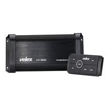 Amplificador bluetooth marinho 4 canais, classe d 800w amp stereo on barcos utv atv carts de golfe e carros