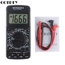 DT9205A Multimetro Digitale AC/DC Voltmetro Amperometro Misuratore di Capacità di Resistenza