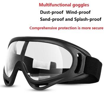 Nowy projekt okulary ochronne przezroczyste pyłoszczelne okulary życie robocze okulary okulary Splash okulary ochronne okulary gogle tanie i dobre opinie WHITE Z tworzywa sztucznego Unisex Jazda na rowerze